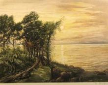 "René LORRAIN  ""La Côte Sauvage de Belle-Isle"""