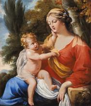 """Charles POERSON  """"La Vierge à l'Enfant"""""""