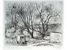 """André VAHL  """"Maisons à Lay-Saint-Christophe"""""""