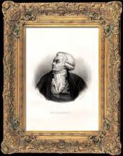 """Tony GOUTIÈRE  """"Portrait de Mirabeau"""""""