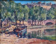Georges BERNANOSE       :  La Seine à Paris