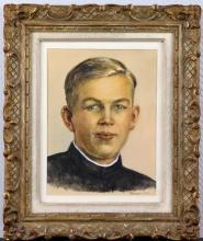 Marthe HAMUE-COLLOT       :  Portrait d'un jeune homme
