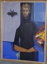 "Jean-Etienne MULLER  ""Autoportrait"""