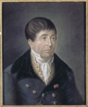 Jean-Baptiste VOIART       :  Portrait de Rouget de L'Isle