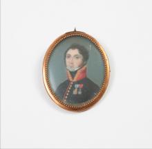 WAULTRIN       :  Portrait présumé de J.B. Poirson