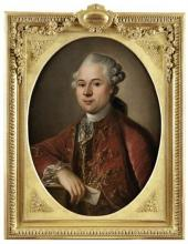 Pierre JOUFFROY - Portrait du Marquis Jean-François de Bertrand de Saint Leonard
